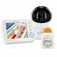 LEVANA Astra Digital Baby Video Monitor with LEVANA Powered by Snuza Oma Portable Baby Movement Monitor System-32044