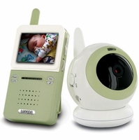 Levana BABYVIEW20 Interference Free Digital Wireless Video Baby Monitor with Night Light Lullaby Camera<!--BABYVIEW20-->