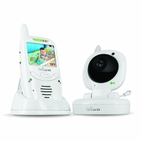 Levana Jena Digital Baby Video Monitor with 8 Hour Rechargeable Battery and Talk to Baby Intercom - 32111<!--32111-->