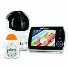 Levana Keera Digital Baby Video Monitor with Levana Powered by Snuza Oma Portable Baby Movement Monitor System-32046