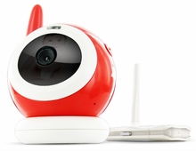 Levana LV-TW500 Interference Free Digital Wireless Night Vision Video Baby Monitor with Online Camera Viewing and Customizable Email Alerts