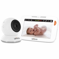 "Levana® Shiloh™ 5"" Touchscreen High Definition Video Baby Monitor with Feeding/Nap Timer, Temperature Alerts and Split or Quad Screen View (32200)<!--32200-->"