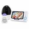 Levana Stella Digital Baby Video Monitor with LEVANA Powered by Snuza Oma+ Portable Baby Movement Monitor System (32049)
