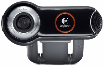 Logitech Pro 9000 PC Internet Camera Webcam with 2.0-Megapixel Video Resolution and Carl Zeiss Lens Optics<!--PRO9000-->