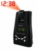 Magnasonic MAG-MM171K AM/FM Projection Alarm Clock Radio with Battery Backup & Dual Time Display