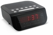 Magnasonic MAG-MM172K Ultra Compact AM/FM Clock Radio with Dual Alarm, Auto Time Set/Restore & Battery Backup