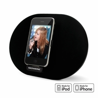 Magnasonic MiDK101 Rotating and Charging Speaker Dock for iPod or iPhone<!--MIDK101-->