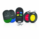 Magnasonic Wireless Key Finder for Keychain, Wallet, Phone, Remote Control includes Locator with 4 Receivers - MGWF300<!--MGWF300-->