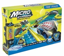 Micro Chargers Toy Race Car Time Track with 2 Quick Charge Cars