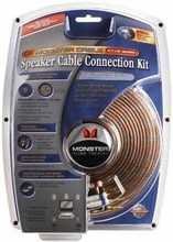 Monster Cable HTIB-SPF Home-Theater-in-a-Box Speaker Wire Connection Kit
