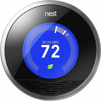 Nest Self Learning & Energy Saving Digital Thermostat - T100577<!--T100577-->