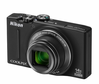 Nikon Coolpix S8200 16.1 MP CMOS Digital Camera with 1080p HD Video Capture and 14x Optical Zoom<!--S8200-->