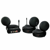 Nyrius NY-GS3200 5.8GHz 6 Channel Wireless Audio/Video Sender Transmitter & Receiver System with IR Remote Extender & Bonus 5.8GHz Wireless Audio/Video Sender Receiver (NY-GS3200RX)<!--NY-GS3200-NY-GS3200RX-KIT-->