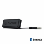 Nyrius Songo Portable Wireless Bluetooth Music Receiver Adapter for Car Audio, Headphones & Speaker Systems with 3.5 mm Connection, Rechargeable Battery, and Audio Controls; <br><br>$14.99 Click Red Banner Below for Details<!--BR41-->