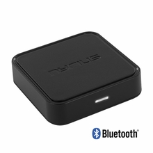 Nyrius Songo Wireless Bluetooth Music Receiver Adapter for Audio Streaming iPhone, iPad, iPod, Samsung, Android, HTC, Windows, Blackberry, Smartphones, Tablets, Laptops to Speaker Systems with 3.5mm Auxiliary Input (BR40)