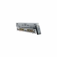 Nyrius SW201 HD Component Video YPbPr & Digital Audio Optical Toslink 3 Input Selector Switch with Remote<!--SW201-->