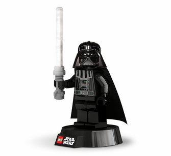 Play Visions Lego Darth Vader Desk Lamp with 12 LED Lightsaber (LGLLP2B)<!--IDLEG2476-->