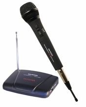 Professional Wireless Handheld Karaoke Microphone Transmitter Receiver System
