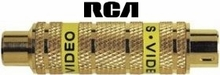 RCA DT5CS Composite Video to S-Video Converter Bi-Directional Adapter
