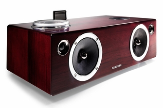 Samsung 2.1 100 Watt Dual Audio Dock & Wireless Sound System for Galaxy, iOS Device, Airplay, AllShare - DA-E750<!--DAE750-->