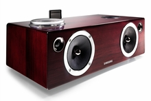 Samsung 2.1 100 Watt Dual Audio Dock & Wireless Sound System for Galaxy, iOS Device, Airplay, AllShare - DA-E750