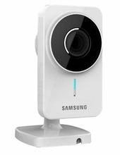 Samsung Smart IP Security Surveillance Camera - Smart Phone Compatible (SNH-1011N)