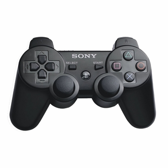 Sony Wireless Dualshock PS3 Controller (Black)<!--PS3DSCTRLR-->