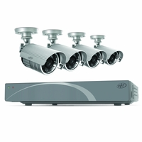 SVAT 4 CH Smart Security DVR with 4 Hi-Res Outdoor 75ft Night Vision Security Cameras 500 GB HDD iPhone, Android, Blackberry, iPad, PC & Mac compatible (11026)<!--11026-->
