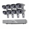 SVAT PRO 8CH H.264 1 TB Smart Security DVR with 8 Ultra Hi-res Outdoor Surveillance Cameras and Smart Phone Compatibility (11111)