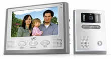 "SVAT VIS300-7M2 Hands Free 2-Wire Color Video Intercom Surveillance System with 7"" LCD Monitor & Outdoor Night Vision Security Camera"