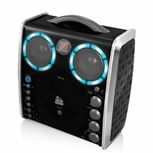 The Singing Machine SML-383 CD+G Karaoke System with Auto Voice Control and Disco Lights
