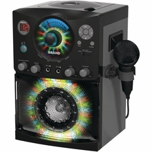 The Singing Machine SML-385 CD+G Karaoke System with Disco Lights