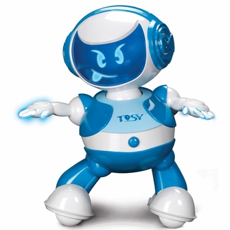 TOSY Robotics DiscoRobo Toy with Voice-Blue<!--TDV102BLUE-->