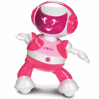TOSY Robotics DiscoRobo Toy with Voice-Pink<!--TDV102Pink-->