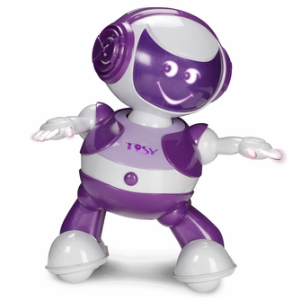 TOSY Robotics DiscoRobo Toy with Voice-Purple<!--TDV104PURPLE-->
