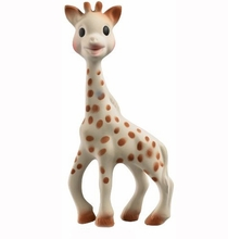 Vulli Sophie The Giraffe Teether Chew Toy Made with Natural Rubber & Food Paint - Phthalates and BPA Free