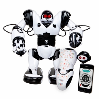 WowWee Robosapien X Humanoid Toy Robot with Remote Control - 10 Year Anniversary Special Edition w/ IR Dongle for iOS or Android device<!--ROBOSAPIENX-->
