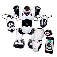 WowWee Robosapien X Humanoid Toy Robot with Remote Control - 10 Year Anniversary Special Edition w/ IR Dongle for iOS or Android device