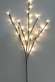 "32 Warm White LED Light Willow Branch 40"", Battery Operated"