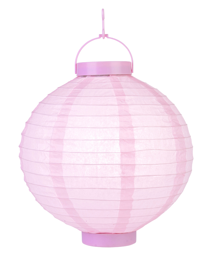 paper lantern light pink led lantern led hanging paper lanterns. Black Bedroom Furniture Sets. Home Design Ideas