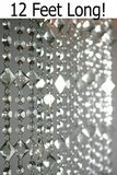 Aces and Eights <B>3' x 12'</B> Crystal Bead Curtain