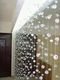 Acrylic Balls Beaded Curtain - Crystal Non-Iridescent - 1 ft x 6 ft