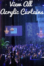 Acrylic Beaded Curtains & Drapes - 100's of Styles!