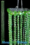 Acrylic Streamer Tassels  Baby  - Lime Green 40""