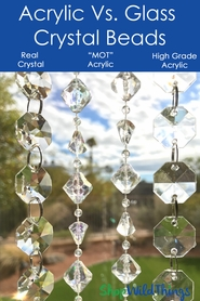 Acrylic Vs. Crystal Beads- So You'll Know Which To Choose