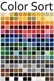 All Products Sorted by Color for Easy Decorating!