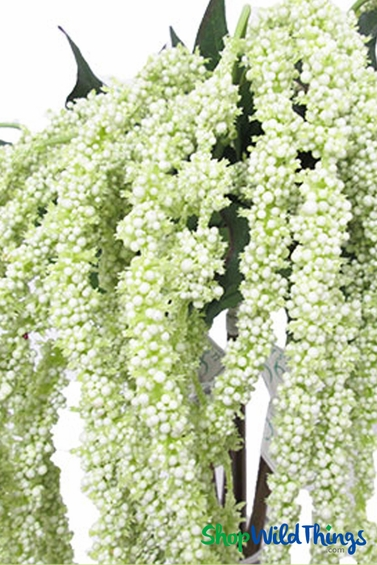 Cream Amaranthus Floral Spray 39 Quot Wedding Decor Shopwildthings Com