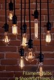 Antique Filament Light Bulbs