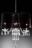 """Ayre"" Real Crystal Chandelier - 20""Lx20""Wx15""H"