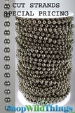 Bag O' Beads - Ball Chain Faux Metal Gunmetal - 270 Feet!